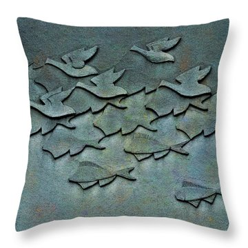 As Above So Below No. One Throw Pillow by Andrea Kollo