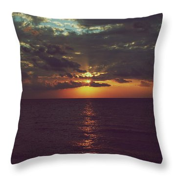 As Day Turns Into Night Throw Pillow by Laurie Search