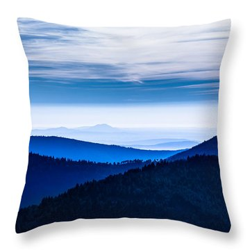 As Far As Our Eye Can See Throw Pillow