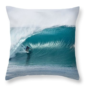 As Good As It Gets. Throw Pillow by Sean Davey