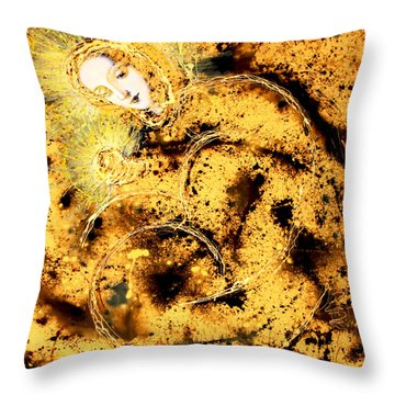 As I Heard You Whisper You Loved Me So My Heart Began To Live Throw Pillow