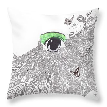 As I See Things Throw Pillow