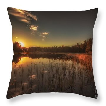 As In A Dream Throw Pillow by Rose-Maries Pictures