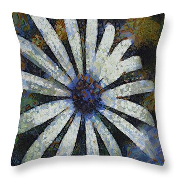 Throw Pillow featuring the painting As It Happened by Joe Misrasi