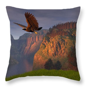 Bald Eagle Throw Pillows
