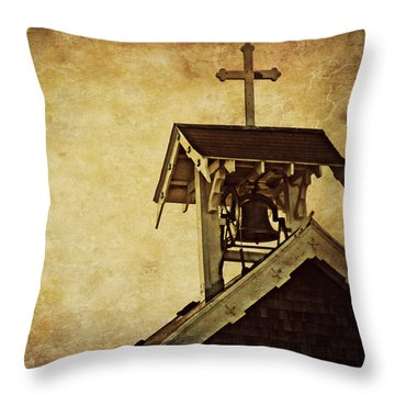 As The Bell Tolls  Throw Pillow