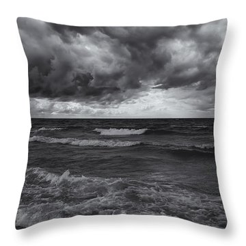 As The World Turns Mono Throw Pillow