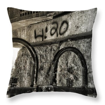 As Time Goes By Throw Pillow by Susan Capuano