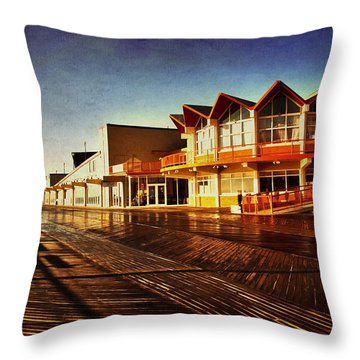 Asbury In The Morning Throw Pillow