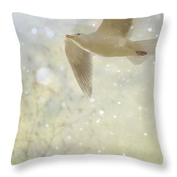 Ascend Throw Pillow by Billie-Jo Miller
