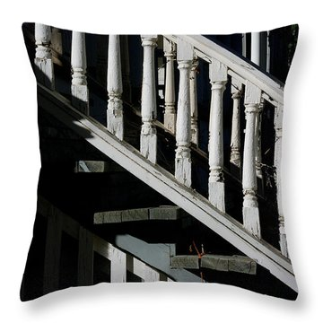 Ascending Into Another Time Throw Pillow