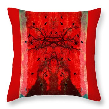 Ascending Throw Pillow by Jan Amiss Photography