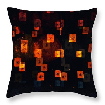 Ascending Prayers Throw Pillow by Sherry Flaker