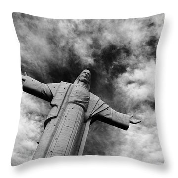 Ascent To Heaven Throw Pillow by James Brunker