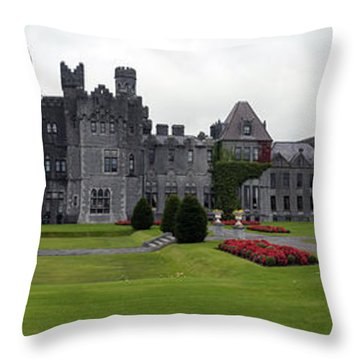 Ashford Castle Throw Pillow