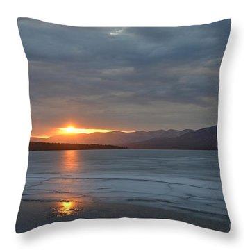 Ashokan Reservoir 34 Throw Pillow