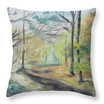 Ashridge Woods 2 Throw Pillow