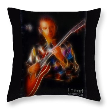 Asia-steve-gc24-fractal Throw Pillow by Gary Gingrich Galleries