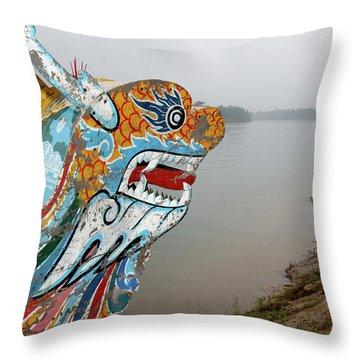 Bow River Throw Pillows