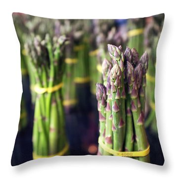 Asparagus Throw Pillows