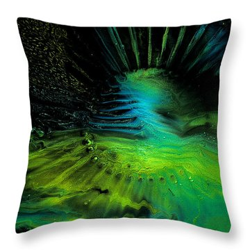 Aspect 1008 Fluidism Throw Pillow