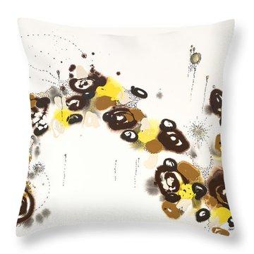 Aspen Celebration #3 Throw Pillow by Nadine Rippelmeyer