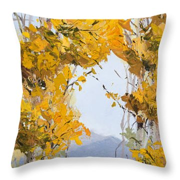 Aspen Quaking II Throw Pillow