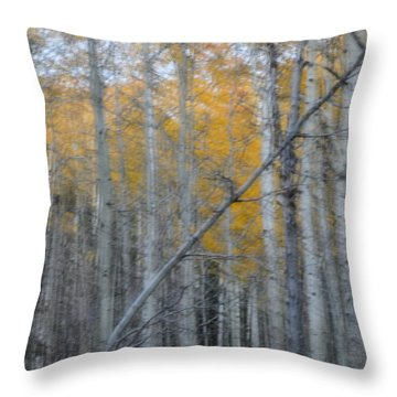 Aspens II Throw Pillow