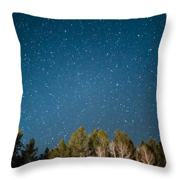 Aspens Reaching For The Stars Throw Pillow