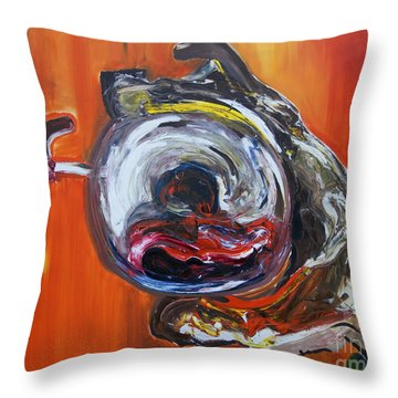 Aspro Pato Throw Pillow
