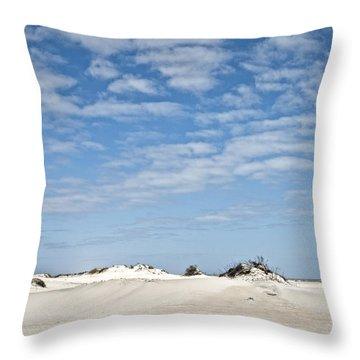 Assateague National Park Dunes Throw Pillow