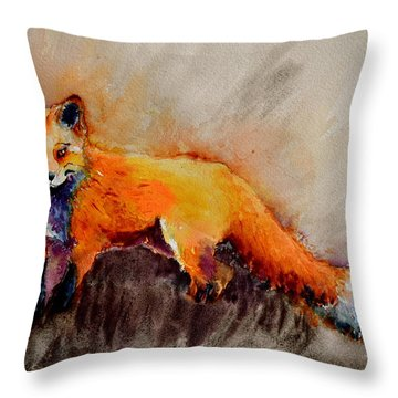 Assessing The Situation Throw Pillow