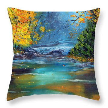 Assurance Throw Pillow by Meaghan Troup