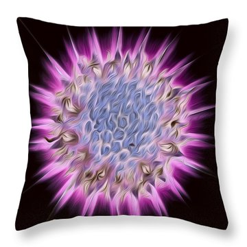 Aster Beauty Throw Pillow