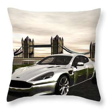 Aston Throw Pillow by John Pangia
