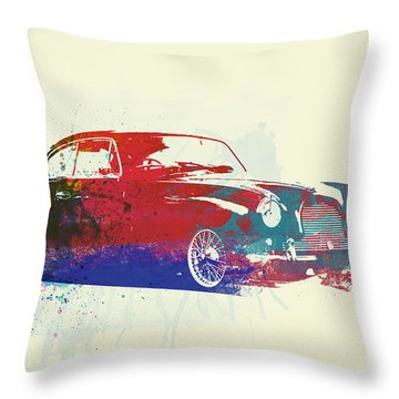 Aston Martin Db2 Throw Pillow