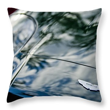 Aston Martin Hood Emblem 4 Throw Pillow
