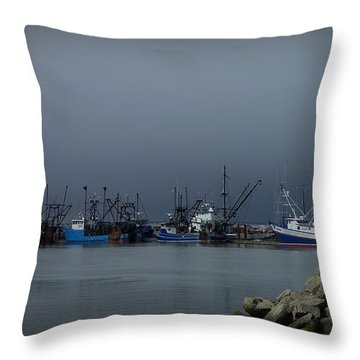 Astoria Safe Harbor Throw Pillow by Chalet Roome-Rigdon