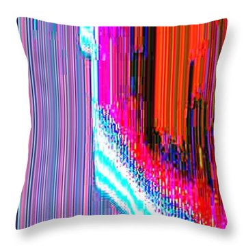 Throw Pillow featuring the digital art Astral352  by Lyle Crump
