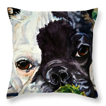 Astro Throw Pillow by Susan Herber
