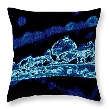 Astroblade Throw Pillow