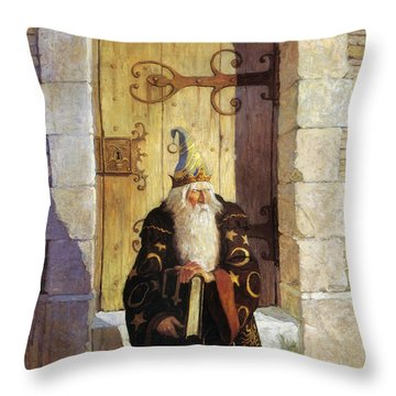 Astrologer, 1916 Throw Pillow by Granger