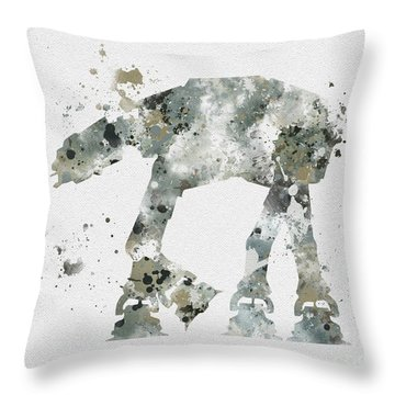 At - At Throw Pillow