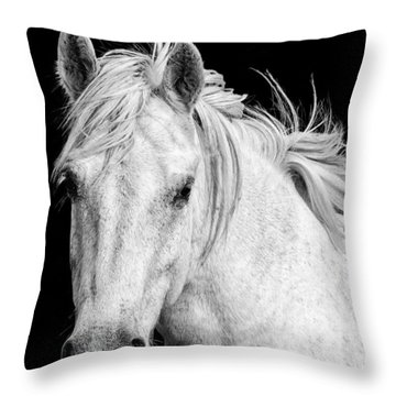 At Carmargue Throw Pillow