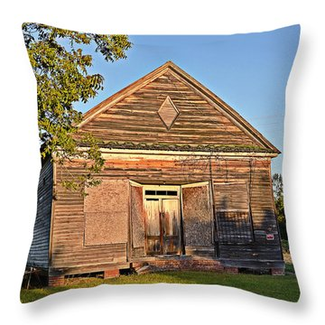 Throw Pillow featuring the photograph At Evening by Linda Brown