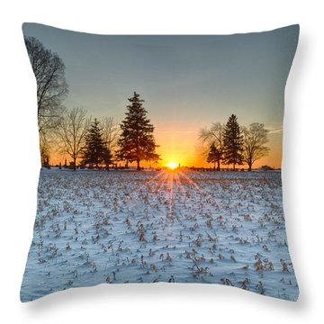 At First Light Throw Pillow