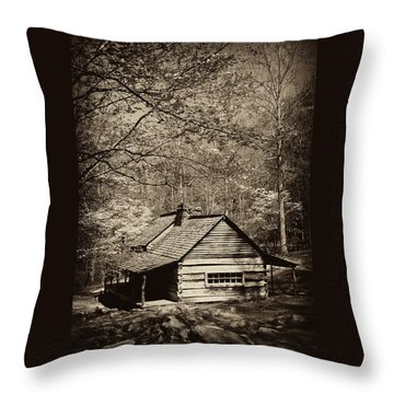 At Home In The Appalachian Mountains Throw Pillow by Paul W Faust -  Impressions of Light