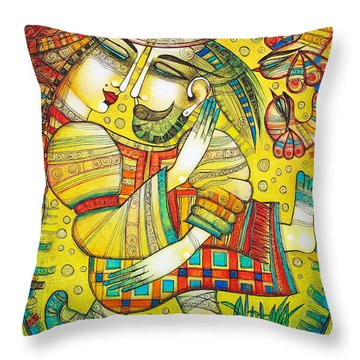 At Last I Found You Throw Pillow