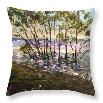 At One With You Throw Pillow