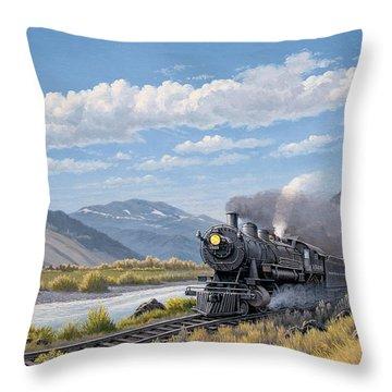 Train Throw Pillows